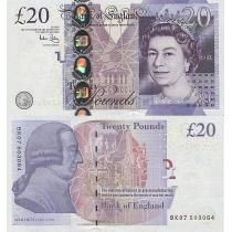 Великобритания 20 фунтов 2006 г.