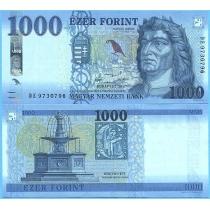 Венгрия 1000 форинтов 2017 год.