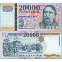 Венгрия 20000 форинтов 2009 год.