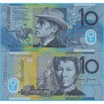 Австралия 10 долларов 2015 год.