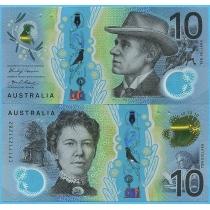 Австралия 10 долларов 2017 год.