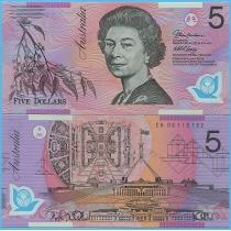 Австралия 5 долларов 2005 год.