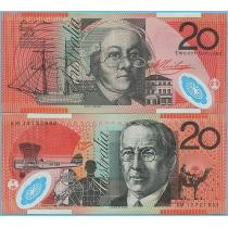 Австралия 20 долларов 2013 год.