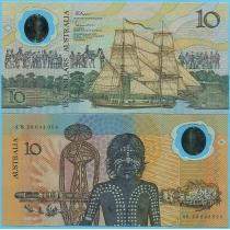 Австралия 10 долларов 1988 год. Юбилейная