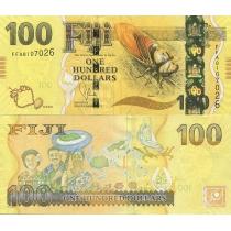 Фиджи 100 долларов 2012 год.