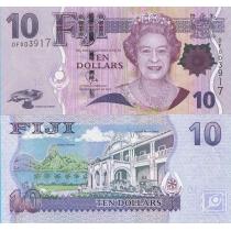 Фиджи 10 долларов 2007 год.