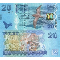 Фиджи 20 долларов 2012 г.