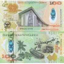 Папуа Новая Гвинея 100 кина 2008 год. Юбилейная