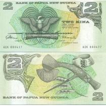 Папуа Новая Гвинея 2 кина 1975 год.