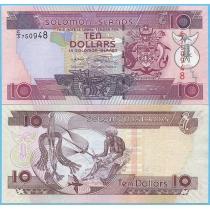 Соломоновы острова 10 долларов 2006 год.