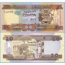 Соломоновы острова 20 долларов 2006 год.