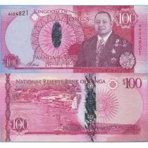 Тонга 100 паанга 2015 год.