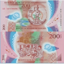 Вануату 200 вату 2014 год.