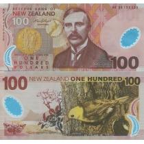 Новая Зеландия 100 долларов 2008 г.