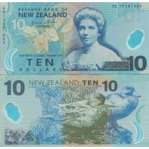 Новая Зеландия 10 долларов 2013 г.