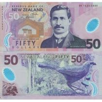 Новая Зеландия 50 долларов 2014 год.