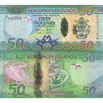 Соломоновы острова 50 долларов 2013 год.