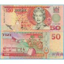 Фиджи 50 долларов 1996 год. P-100b