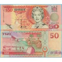 Фиджи 50 долларов 1996 год. P-100a