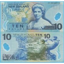 Новая Зеландия 10 долларов 2006 год.