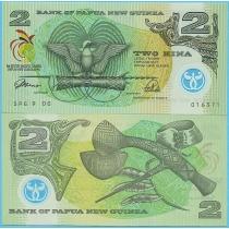Папуа Новая Гвинея 2 кина 1991 год. Юбилейная.