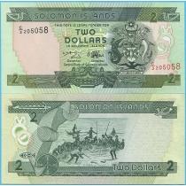 Соломоновы острова 2 доллара 1997 год.
