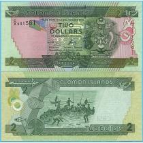 Соломоновы острова 2 доллара 2006 год.