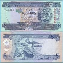 Соломоновы острова 5 долларов 2006 год.