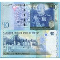 Тонга 10 паанга 2009 год.