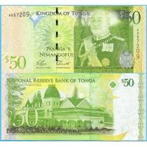Тонга 50 паанга 2009 год.