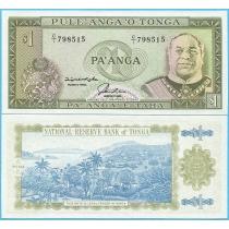 Тонга 1 паанга 1992-1995 год.