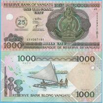 Вануату 1000 вату 2005 год. 25 лет независимости.