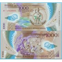 Вануату 1000 вату 2014 год.