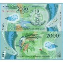 Вануату 2000 вату 2014 год.