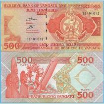 Вануату 500 вату 2006 год.