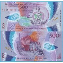 Вануату 500 вату 2017 год.