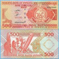Вануату 500 вату 2006 год. Pik-5b