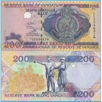 Вануату 200 вату 1995 год.