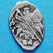 Чешуйка. Копейка Ивана IV Васильевича 1561-1584 год. Серебро, Новгород. №1