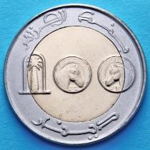 Алжир 100 динар 2013-2015 год. Арабский скакун.