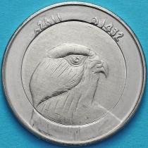 Алжир 10 динар 2011 год. Берберийский сокол.