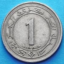 Алжир 1 динар 1987 год. 25 лет независимости.