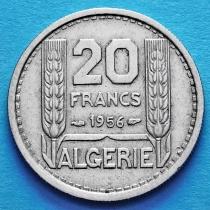 Алжир 20 франков 1956 год.