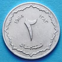 Алжир 2 сантима 1964 год.
