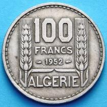 Алжир 100 франков 1950, 1952 год.