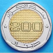 Алжир 200 динар 2012 г. 50 лет Независимости