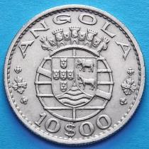 Португальская Ангола 10 эскудо 1965 год.