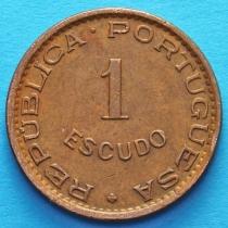 Португальская Ангола 1 эскудо 1974 год.