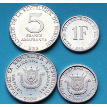 Бурунди Набор 2 монеты