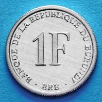 Бурунди 1 франк 2003 год.